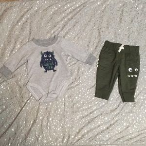 Baby Boy 2-Piece Matching Outfit Set